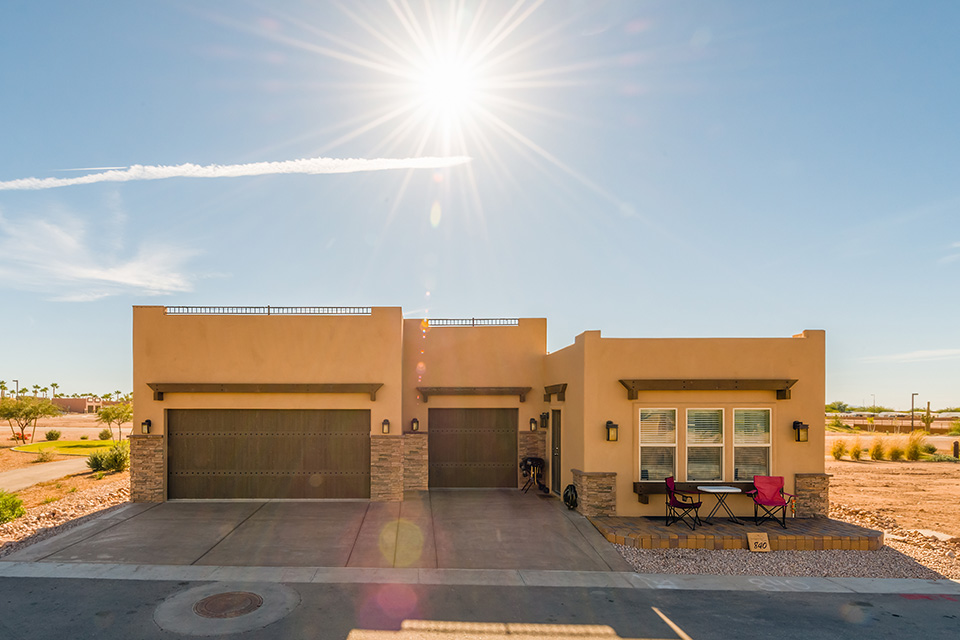 Superstition Views RV Resort In Gold Canyon AZ For 55 Park Model Homes Sale