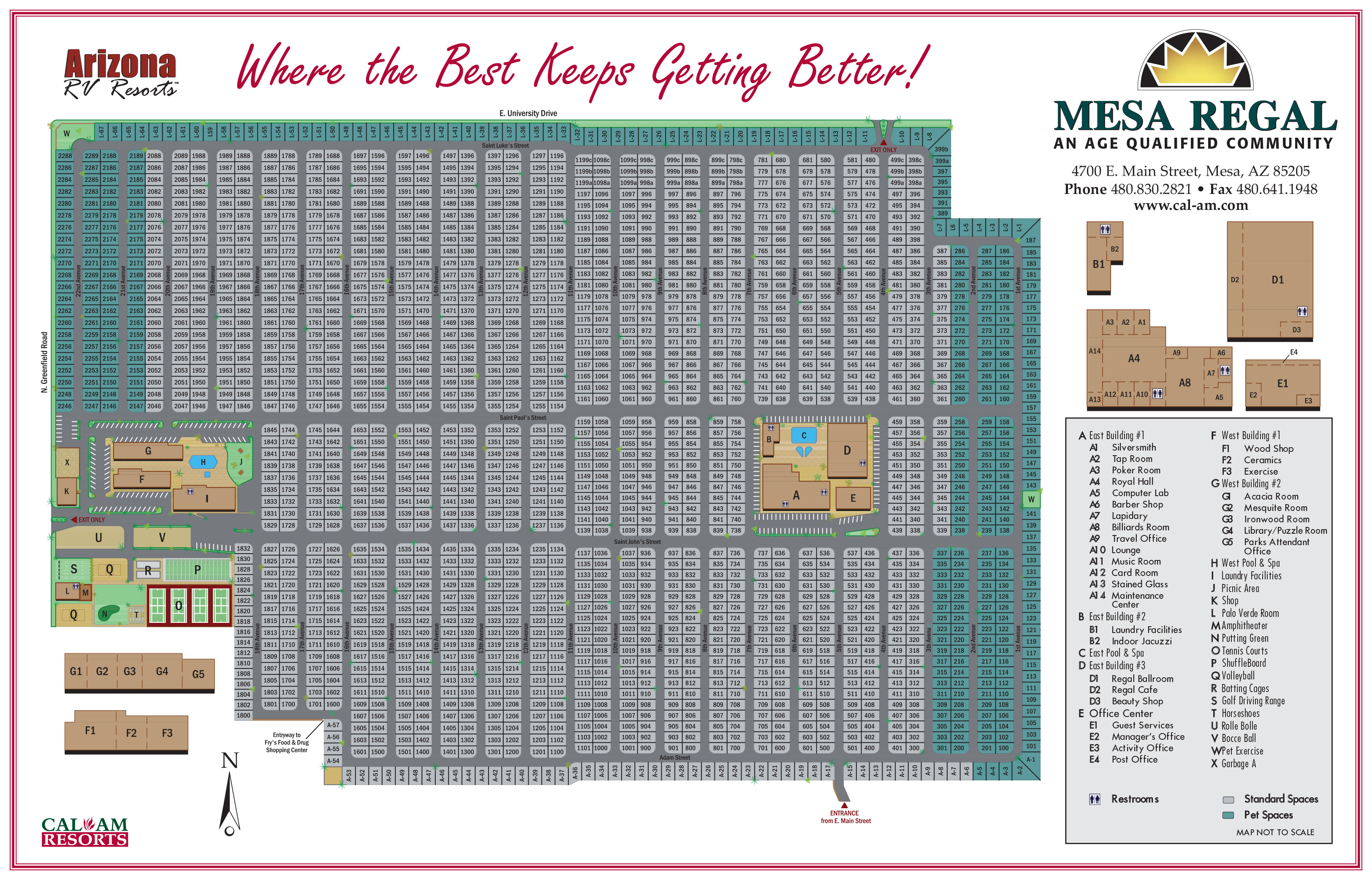 mesa regal rv resort in mesa az for 55 park model homes for sale