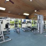 Equipped fitness center open for all residents to use.