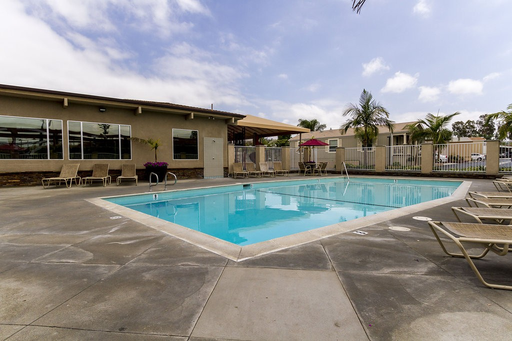 Beautiful outdoor pool with access to the community center. Open space available for residents to enjoy with family and friends.