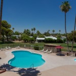 Large Swimming pool at San Estrella, All Ages, family community in Phoenix, AZ