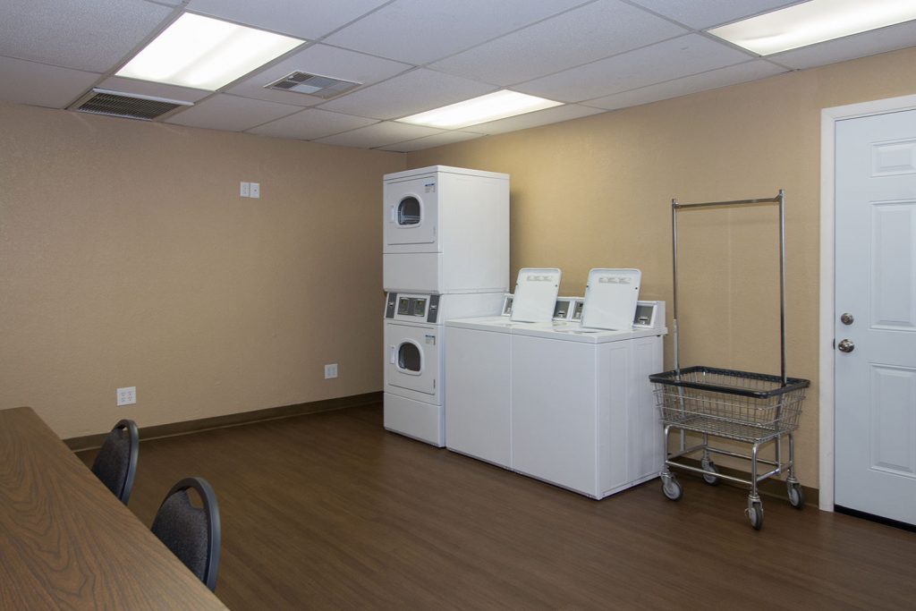 Sierra Estates, an all age family community in Mesa Arizona has laundry facilities with 2 washers and 2 dryers.