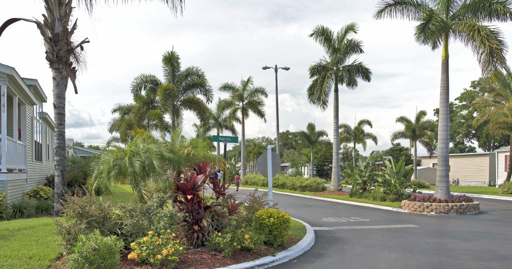 Tampa RV Park Homes