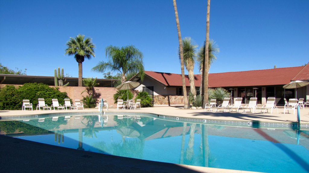 Far Horizons East in Tucson Arizona is an active 55 plus manufactured home community has pools ...