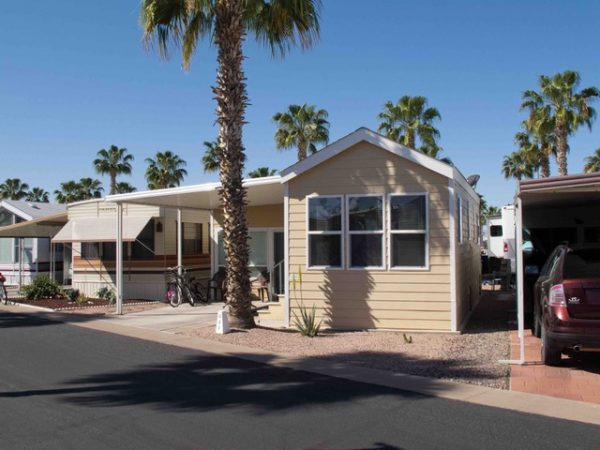 View 651-1230-126 2007 CAVCO FULLY FURNISHED LIKE NEW OPEN CONCEPT ARIZONA ROOM CENTRAL A/C AND HEAT RENT PAID TO SEPTEMBER 2019 VIN# 46NPA353X76002753