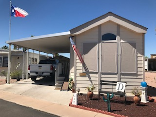 View 651-9310-126 2006 CAVCO WITH INSULATED SHED WITH WASHER AND DRYER FURNISHED CENTRAL AC AND HEAT RENT PAID TO SEPTEMBER 2019 VIN# 46NPA353266001465