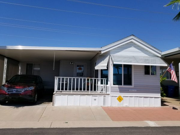 View 651-5950-972 1997 SKYLINE ONE OF A KIND UNBELIEVABLE PRICE REDUCTION NEWLY REMODELED 2 BED 1 1/2 BATH HOME WITH ARIZONA ROOM AND ALL OF THE UPGRADES! VIN# 46NPA3526V6002348
