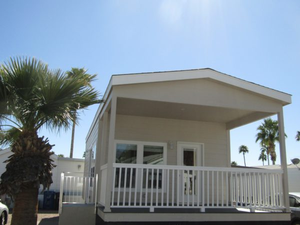 View 653-1261-133 2020 Cavco El Paso 15′ Wide Front Porch 2 Years FREE RENT