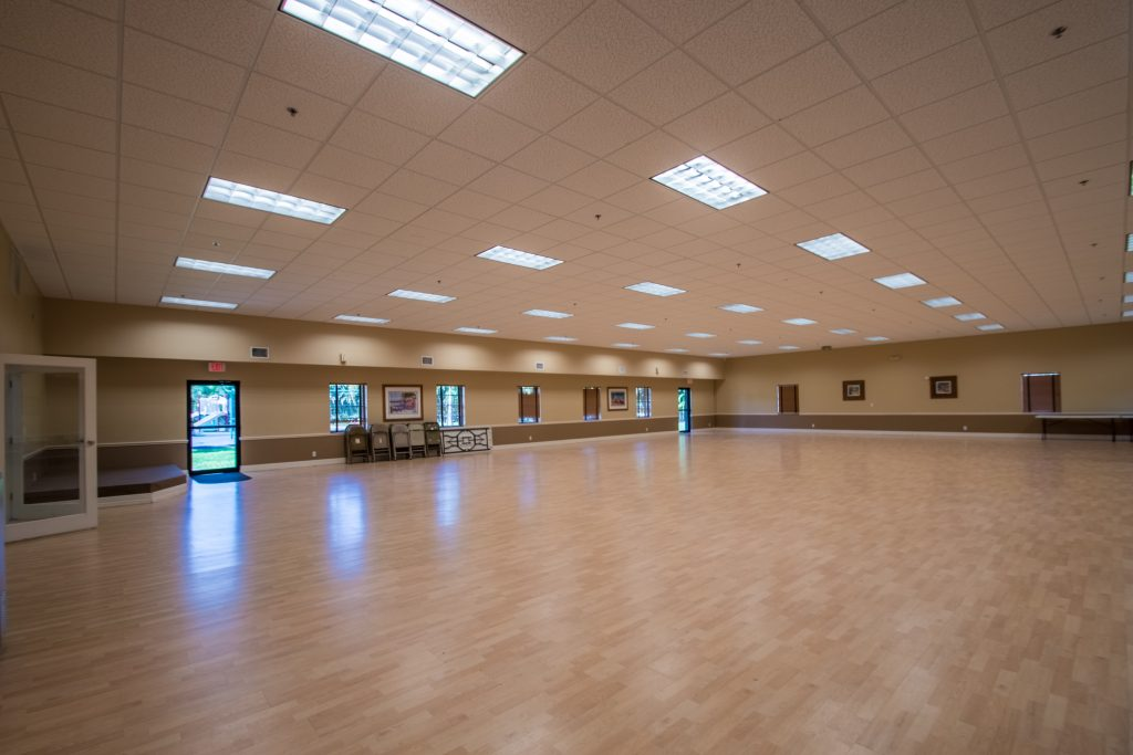 Large Banquet hall can be reserved for family reunions, parties and other events.