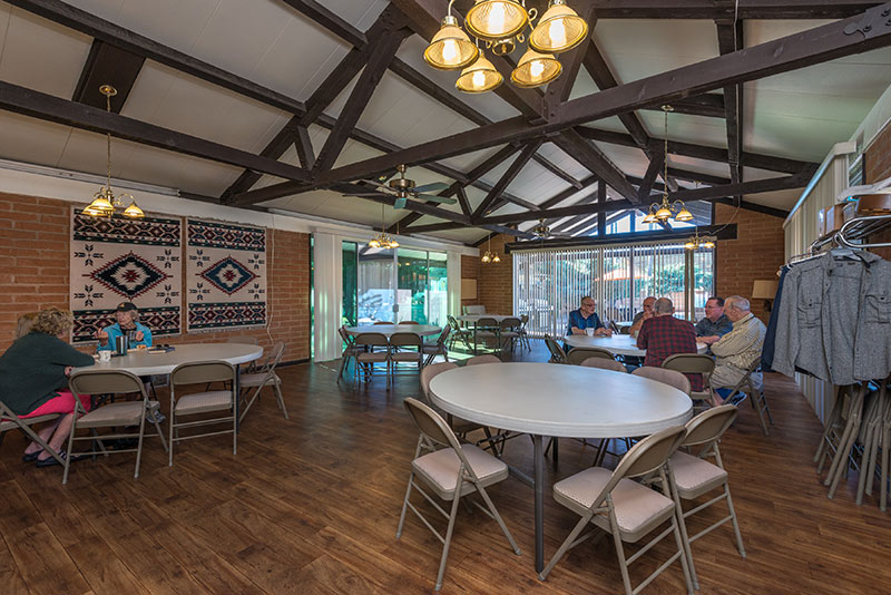 Far Horizons East, an active community with hosted events, such as potlucks, and special occasion dinners and breakfasts.